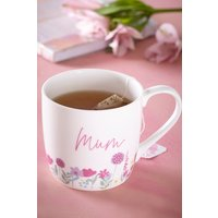 Next Floral Mum Mug - Purple