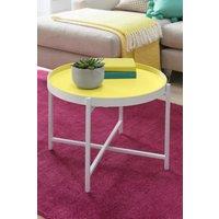 Next Circular Side Table - Yellow