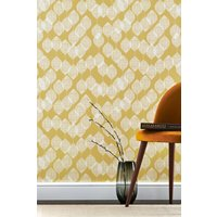 Next Paste The Paper Ochre Leaf Wallpaper - Yellow