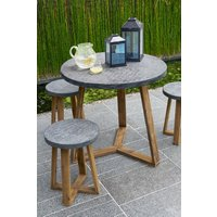 Next Cement Effect Dining Table