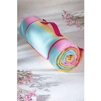 Next Striped Picnic Blanket - Pink