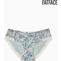 Womens FatFace Green Jade Floral Girl Short - Green