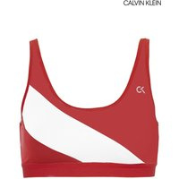 Womens Calvin Klein Performance Low Support Sports Bra - Red