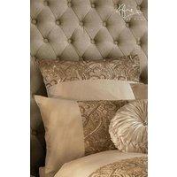 Kylie Marnie Square Pillowcase - Gold