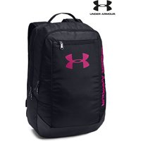 Womens Under Armour Hustle Backpack - Black