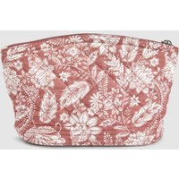 Womens Next Pink Paisley Quilted Cosmetic Bag - Pink