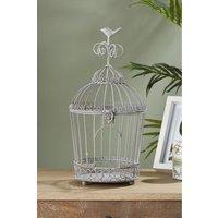 Next Bird Cage Sculpture - Grey