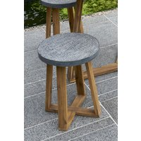 Next Cement Effect Dining Stool