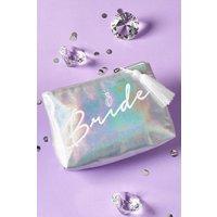 Next Bride Make Up Bag - Silver