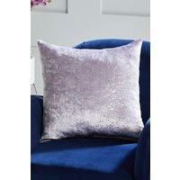 Next Metallic Speckle Cushion - Purple