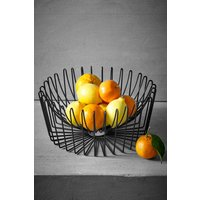Next Black Wire Fruit Bowl - Black