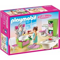 Boys Playmobil Dollhouse Vintage Bathroom
