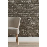 Next Paste The Paper Grey Bricks Wallpaper - Grey