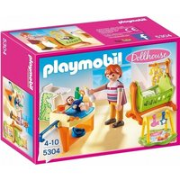 Girls Playmobil Dollhouse Baby Room With Cradle