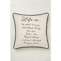 Next Life Is Cushion - Natural