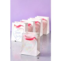 Next Pack of 5 Team Bride Gift Bags - White