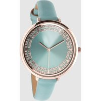 Womens Next Turquoise Sparkle Dial Watch - Blue