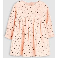 Girls Next Pink Spot Print Dress (0mths-2yrs) - Pink