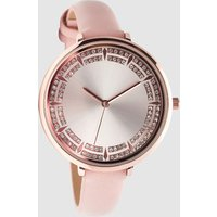 Womens Next Pink Sparkle Dial Watch - Pink