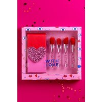 Womens Next Love Brush Set - Pink