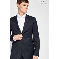 Mens Ted Baker Navy TimzonJ Suit: Jacket - Blue