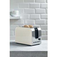 Next 2 Slot Toaster - Cream