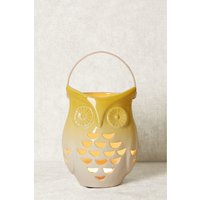 Next Ceramic Owl Lantern - Yellow