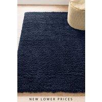 Next Comfy Twist Rug - Blue