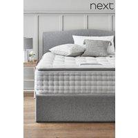 Next 3600 Pocket Sprung Luxury Natural Pillow Top Firm Mattress - White