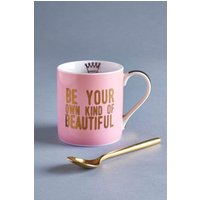 Next Be Beautiful Mug - Pink