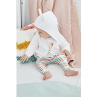 Next White Character Hooded Cardigan (0mths-2yrs) - White