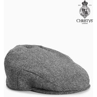 Mens Next Grey Christys London Grey Flat Cap - Grey