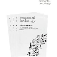 Womens Elemental Herbology Nutrition Infusion Sheet Masks - No Colour
