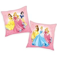 Herding Kuschelkissen Disney`s Princess, rosa, 40 x 40 cm
