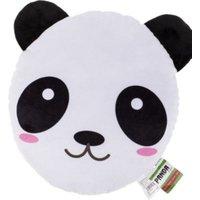 """Out of the Blue Plüsch-Kissen """"Panda"""" gefüllt,30 cm schwarz/weiß"""