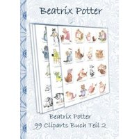 Beatrix Potter 99 Cliparts Buch Teil 2 ( Peter Hase )