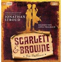 Scarlett & Browne - Die Outlaws, 2 Audio-CD, Hörbuch