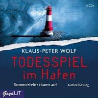 Todesspiel im Hafen, 4 Audio-CDs Hörbuch