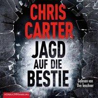 Jagd auf die Bestie, 2 MP3-CDs Hörbuch