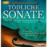 Tödliche Sonate, 2 Audio-CD, Hörbuch