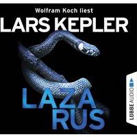 Lazarus, 8 Audio-CDs Hörbuch