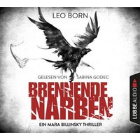 Brennende Narben, 6 Audio-CDs Hörbuch