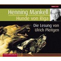 Hunde von Riga, 6 Audio-CDs Hörbuch