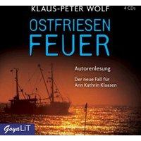 Ostfriesenfeuer, 4 Audio-CDs Hörbuch