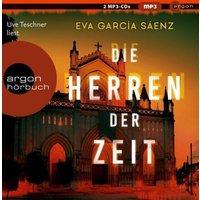 Die Herren der Zeit, 2 MP3-CD Hörbuch
