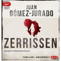 Zerrissen, 2 MP3-CDs Hörbuch