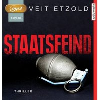 Staatsfeind, 1 MP3-CD Hörbuch