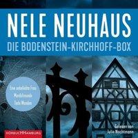 Die Bodenstein-Kirchhoff-Box, 6 MP3-CD Hörbuch