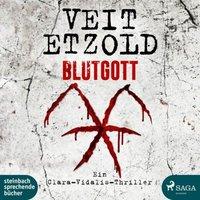 Blutgott, 2 Audio-CD, MP3 Hörbuch
