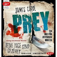 Prey - Deine Tage sind gezählt. Ein Fall Jefferson Winter, 2 MP3-CDs Hörbuch Kinder